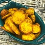 Air Fryer Curry Roasted Potatoes