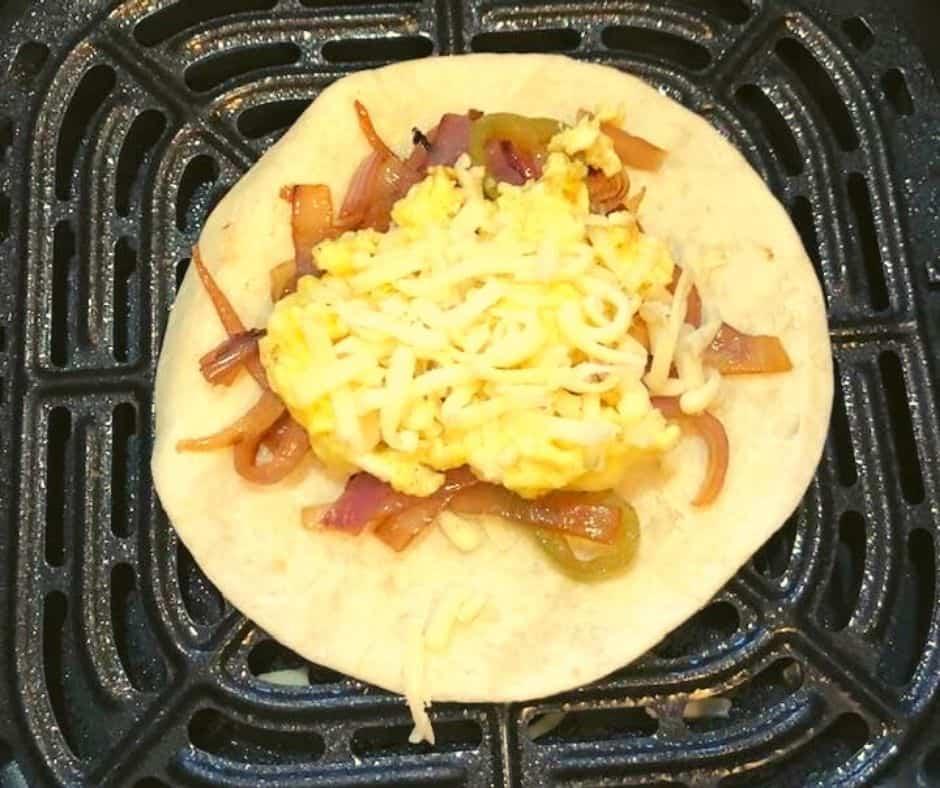 Breakfast Taco in Air Fryer