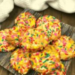 Air Fryer Confetti Cookies
