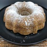 Air Fryer Lemon Poppy Seed Bundt Cake