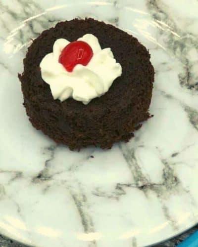 Air Fryer Chocolate Lava Cakes