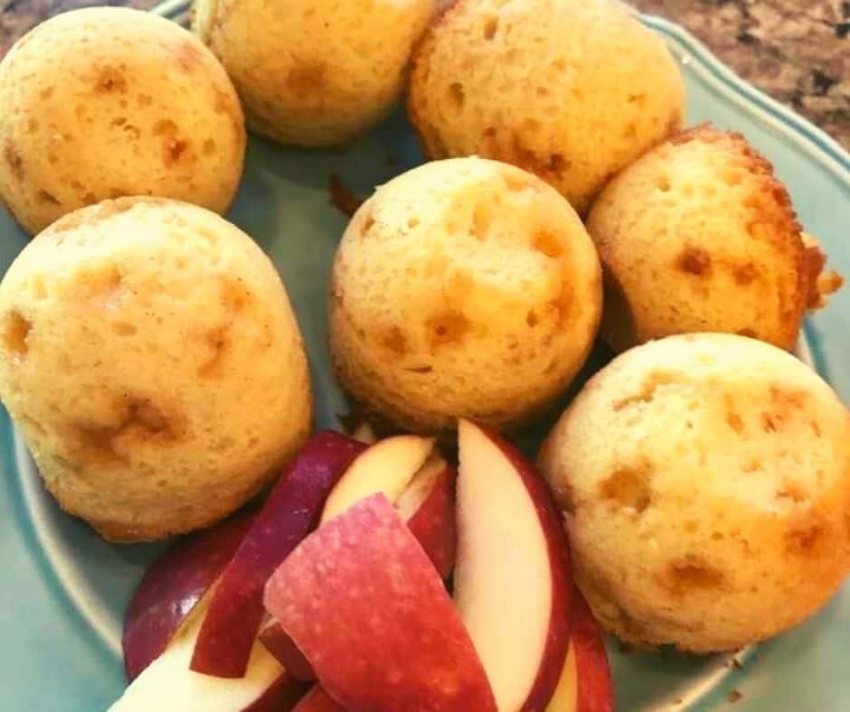 Air Fryer Mini Apple Cinnamon Muffins