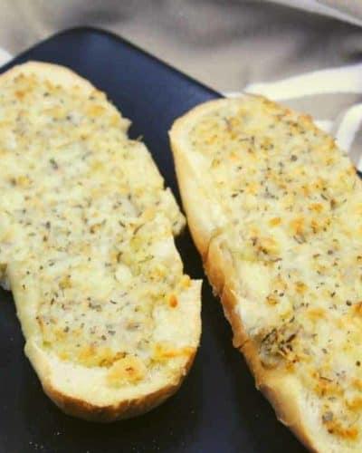 Air Fryer Cheesy Garlic Bread Rolls