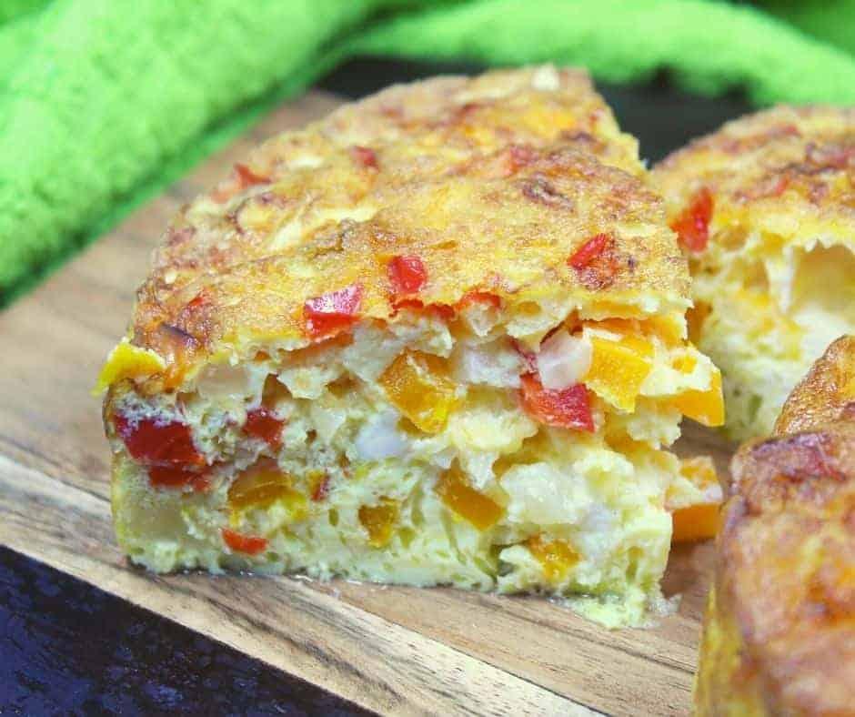 Cut Air Fryer Breakfast Frittata