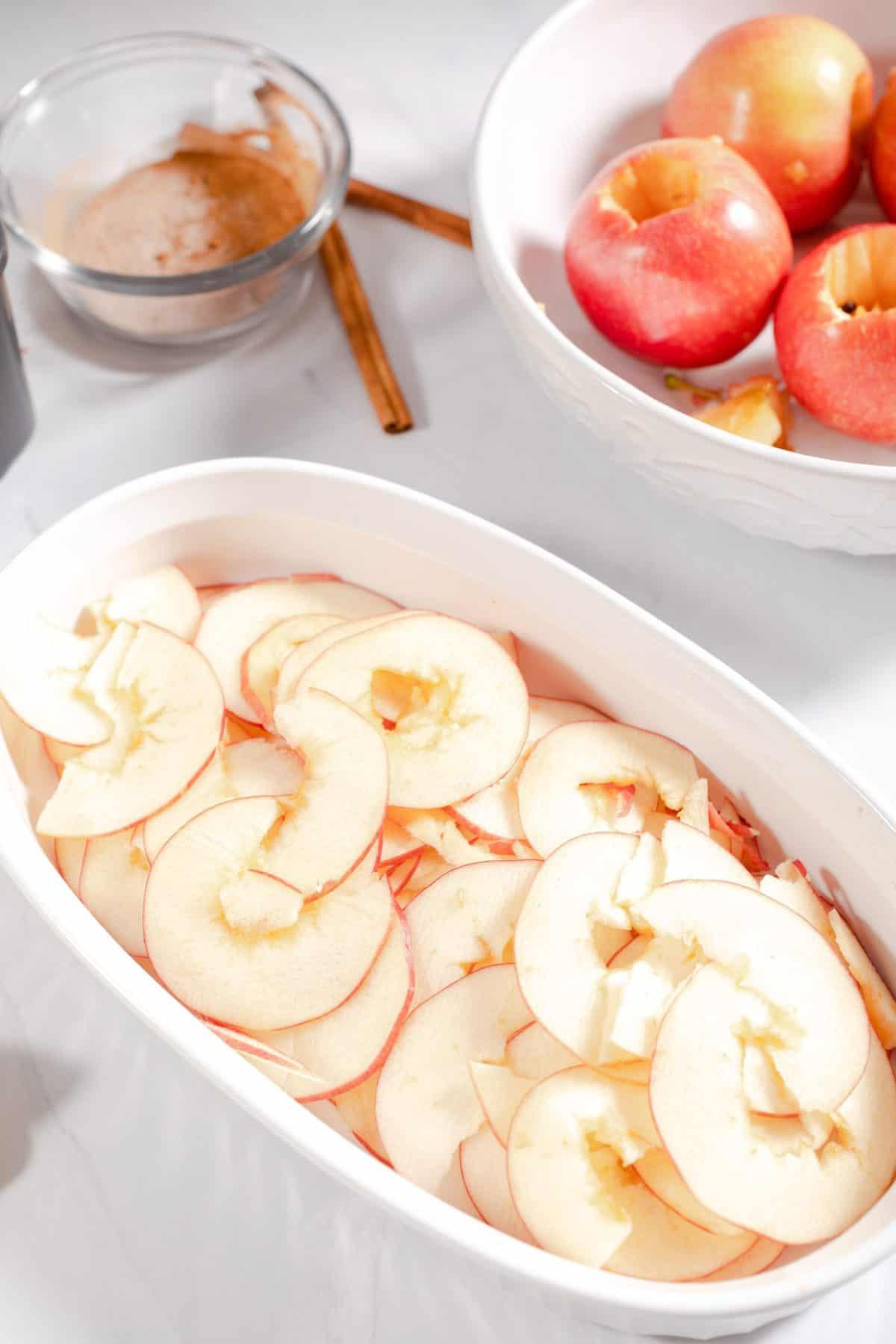 Slice Apples into Slices