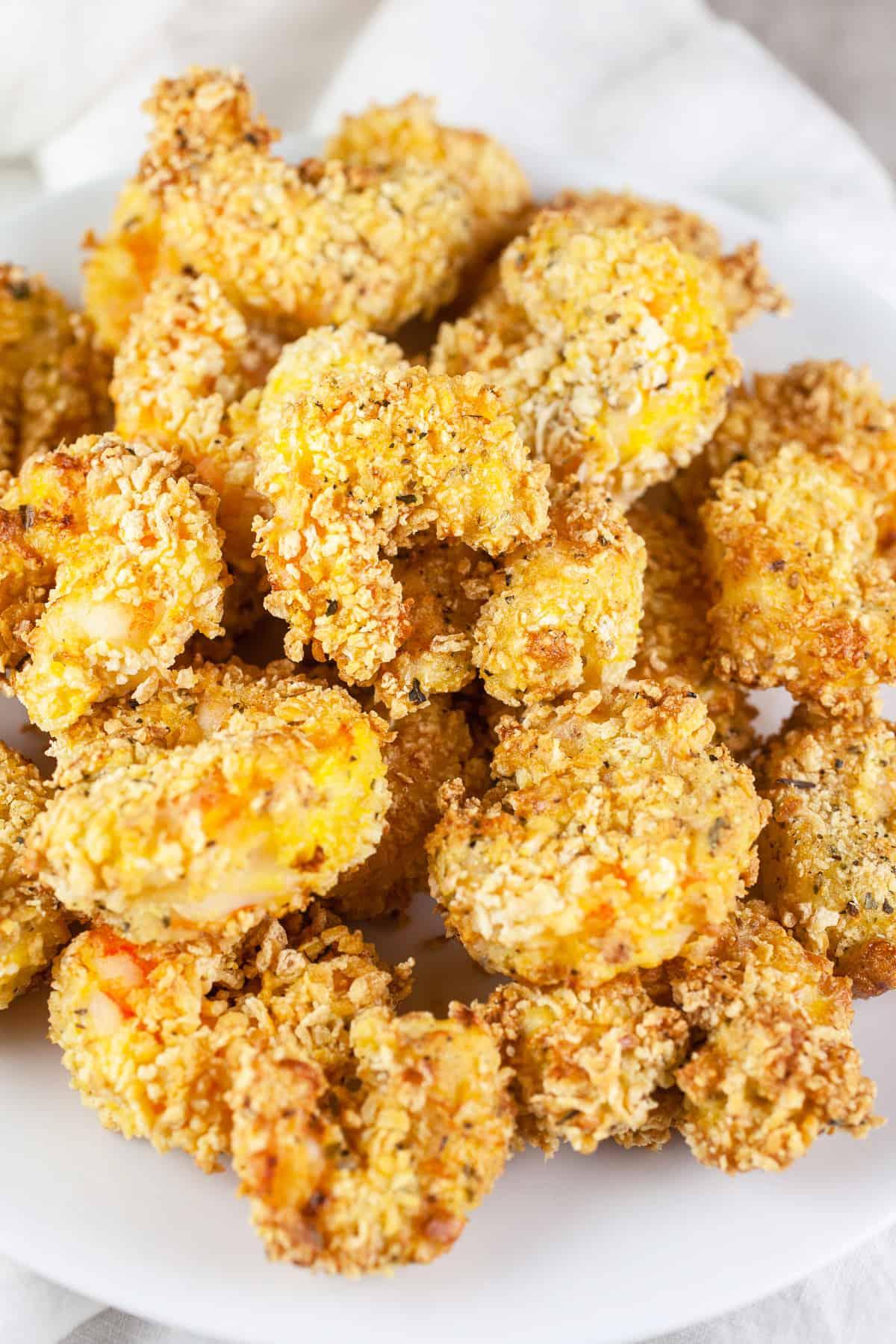 Crispy Air Fryer Shrimp
