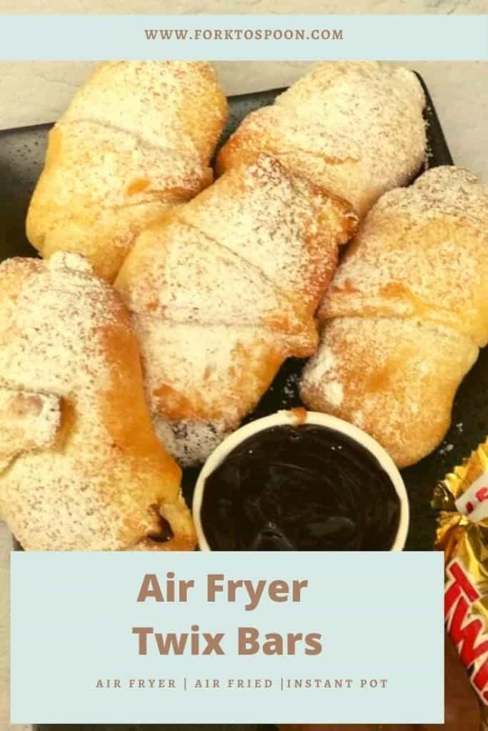 Air Fryer Twix Bars