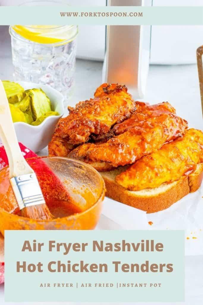 Air Fryer Nashville Hot Chicken Tenders