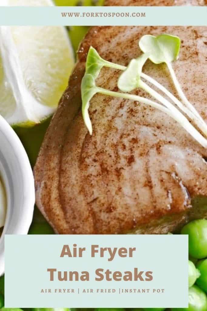 Air Fryer Tuna Steaks