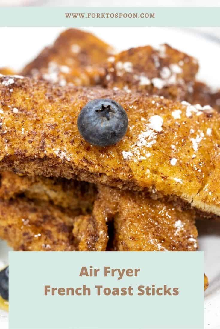 As you do, line them up in your Air Fryer Basket. (You can use parchment paper if you want to cut down on the mess) Air Fry for a 2 minute cook time at 320 degrees F, air fryer setting. Then flip them over and do another 3 minutes. (5 minutes total time) Serve with maple syrup and enjoy!