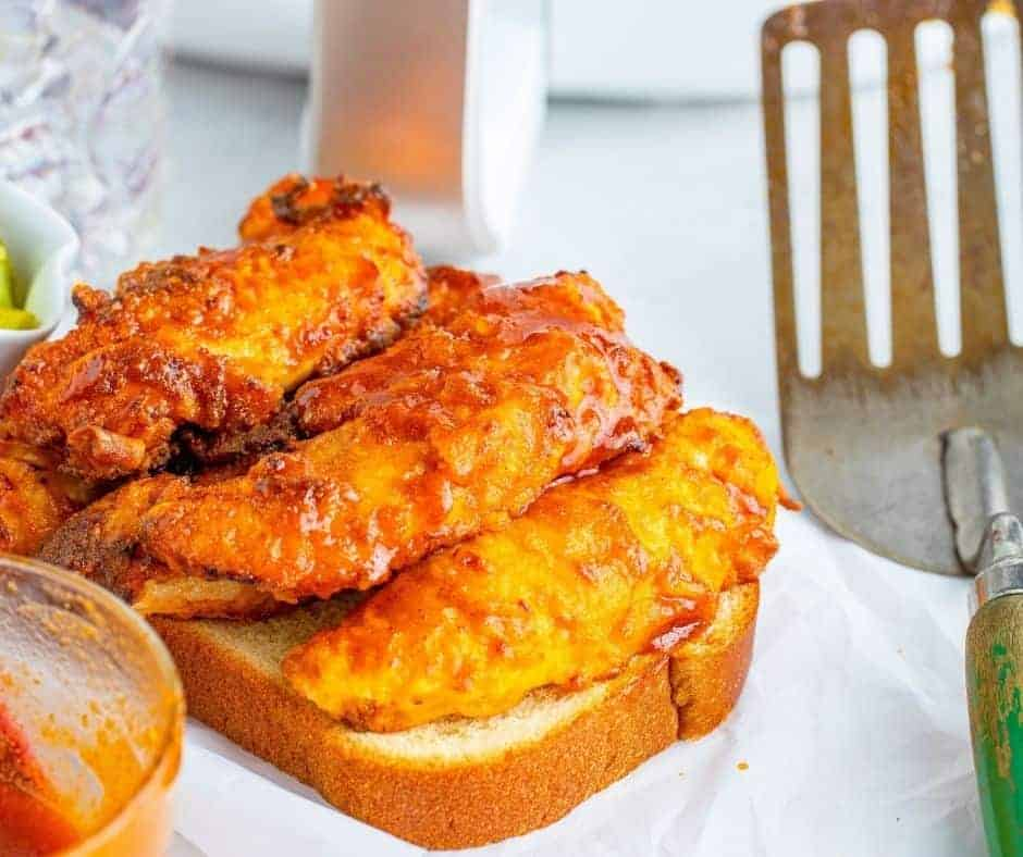 Air Fryer Nashville Chicken