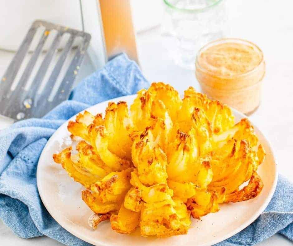 Air Fryer Blooming Onion