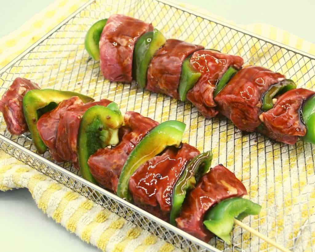 Marinated Beef Kebabs