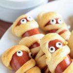 Air Fryer Mummy Hot Dogs