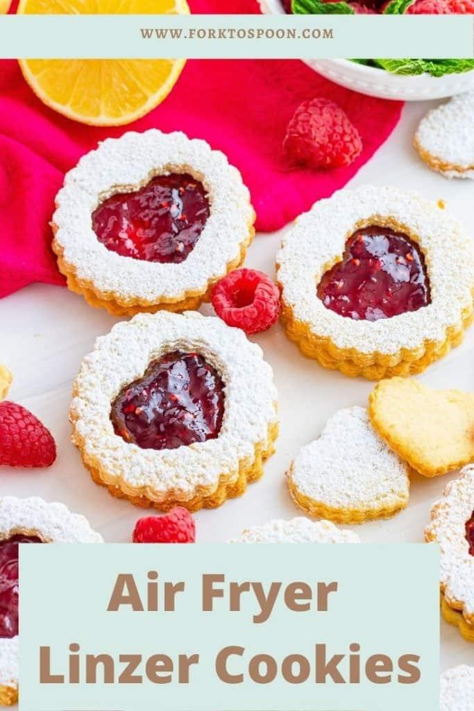 Air Fryer Linzer Cookies
