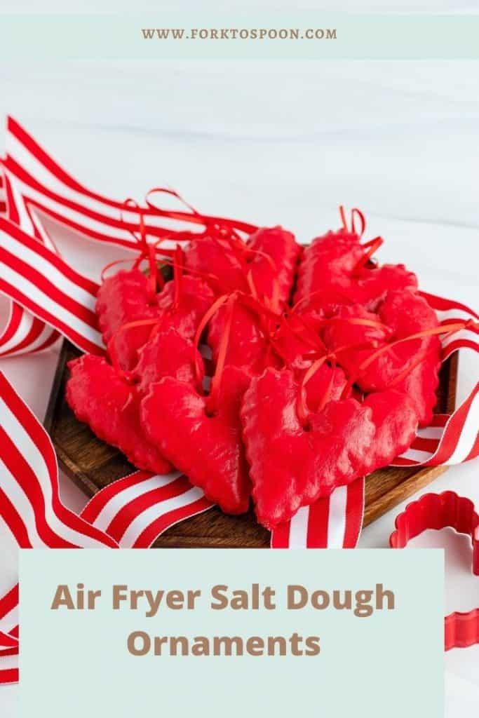 Air Fryer Salt Dough Ornaments