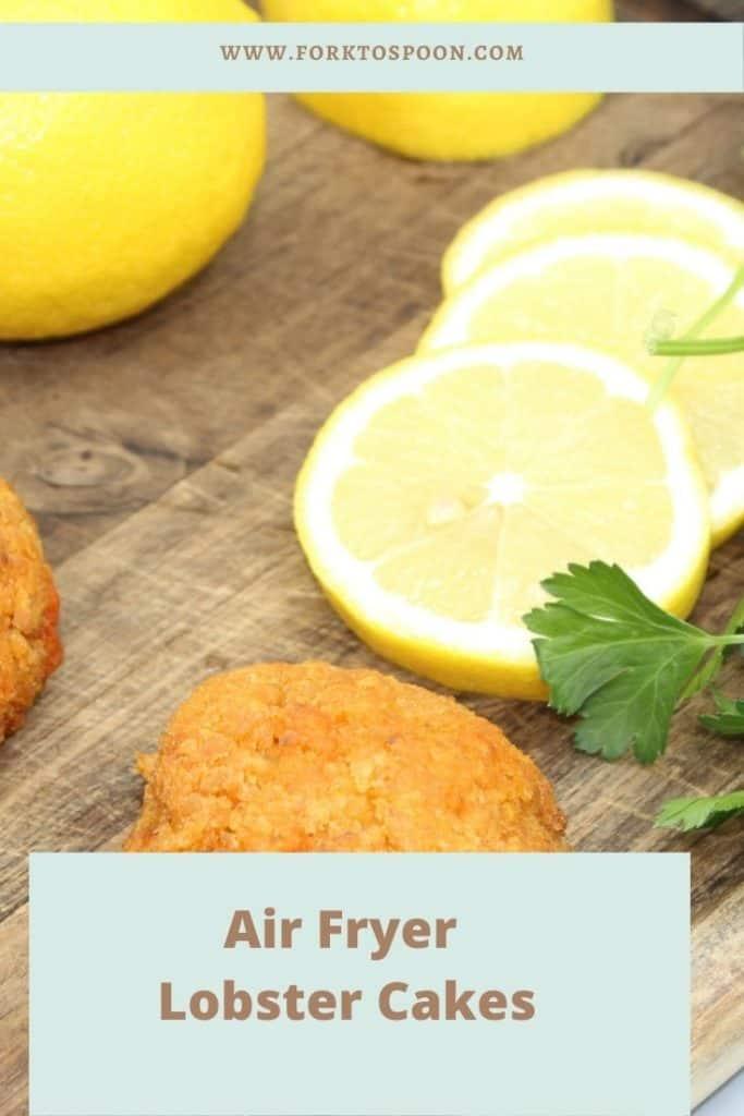 Air Fryer Lobster Cakes