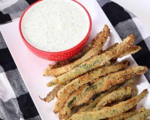 Air Fryer TGIF Friday's Green Bean Fries