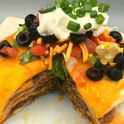 Ninja Foodi Air Fryer Taco Pie