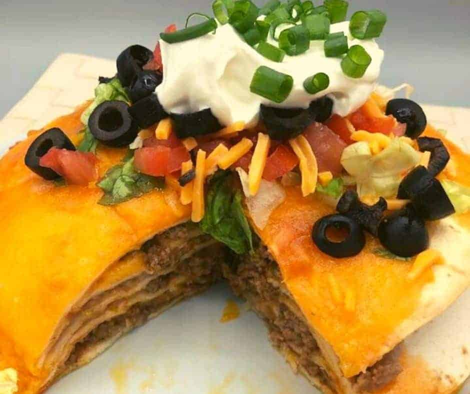 Ninja Foodi Air Fryer Taco Pie