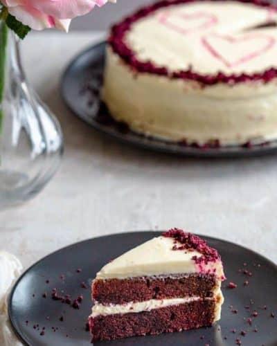 Instant Pot Red Velvet Cake