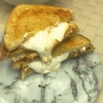 Air Fryer Fluffernutter Sandwich