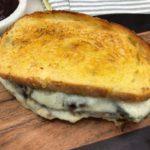 Air Fryer Meatloaf Sandwich