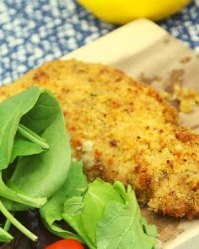 Air Fryer Parmesan Crusted Cod