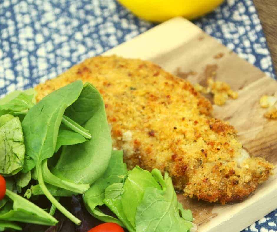 Air Fryer Parmesan Crusted Cod