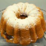 Air Fryer Raspberry Lemon Bundt Cake