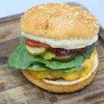 Air Fryer Plant-Based Beyond Burger