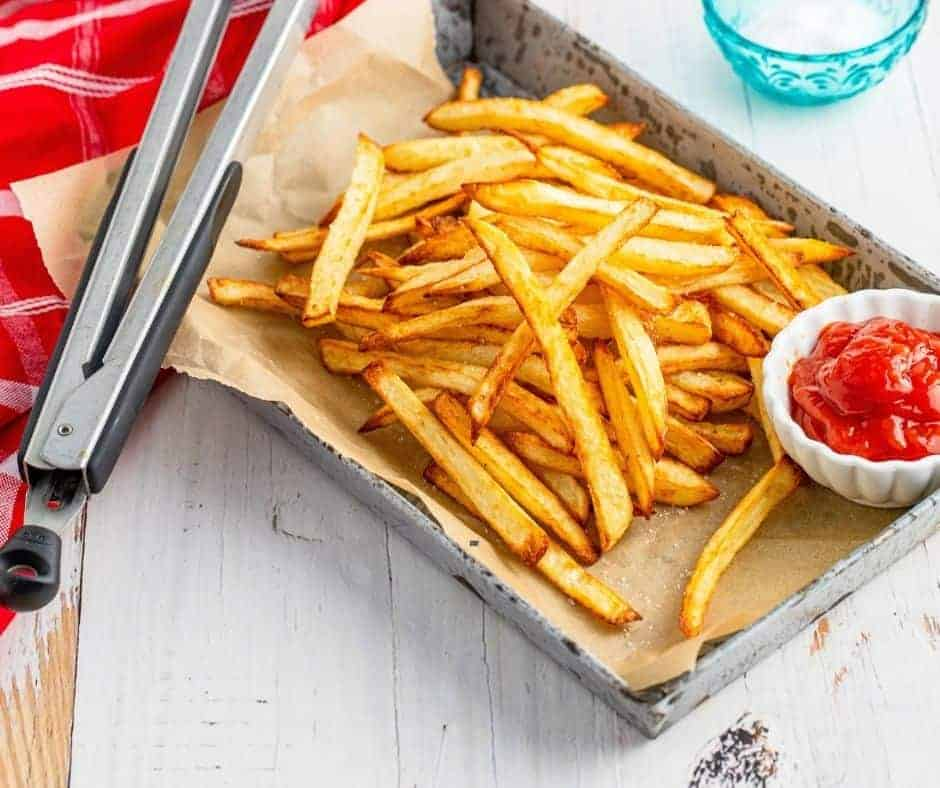 Air Fryer Copycat McDonald's French Fries