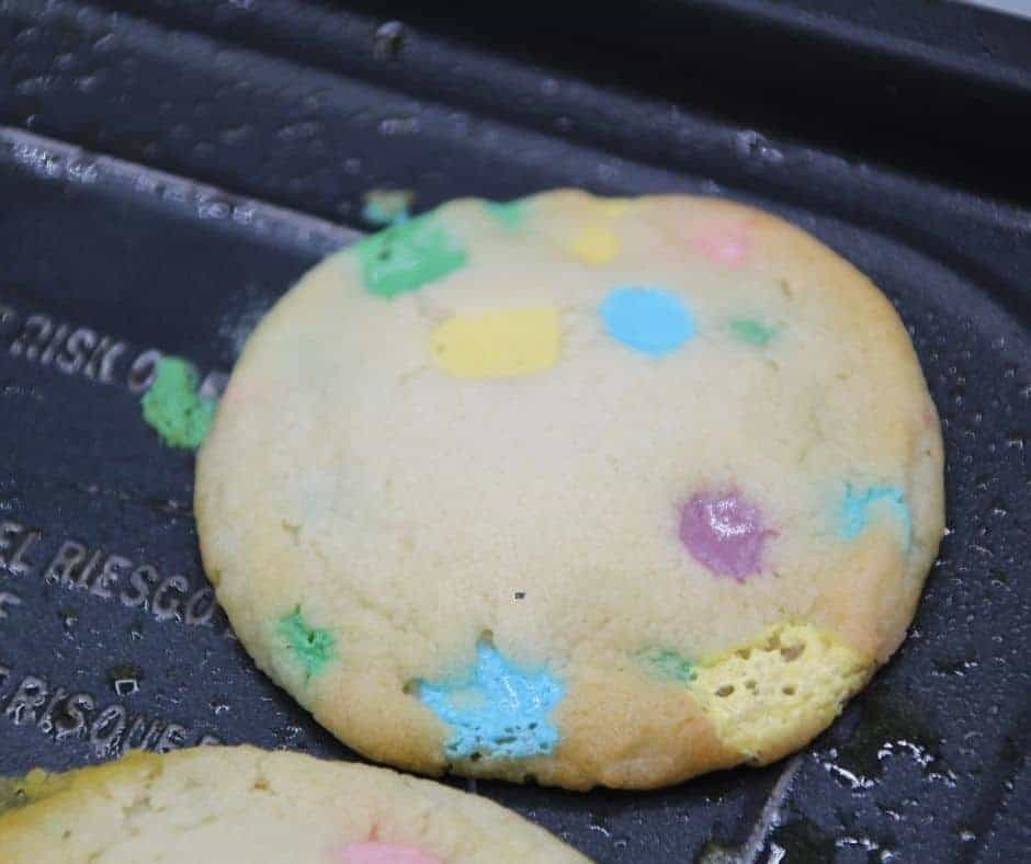Air Fryer Lucky Charm Cookies
