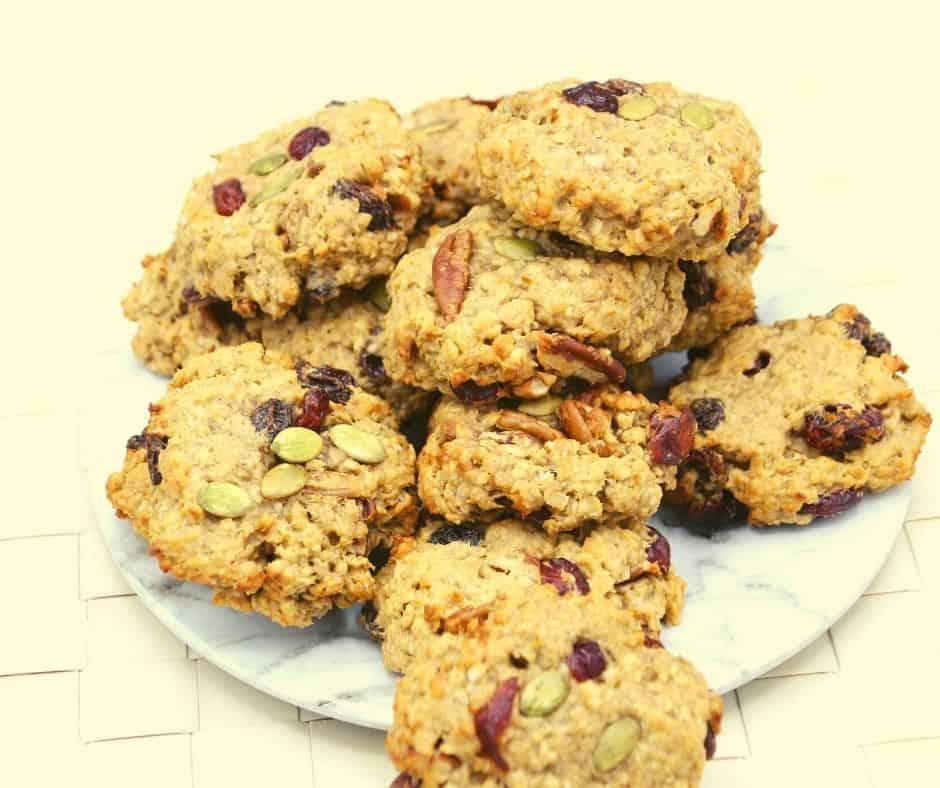 Air Fryer Breakfast Cookies