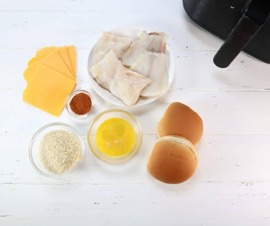 Ingredients For Fish Fillet