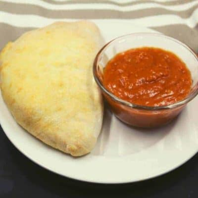 Air Fryer The Best Pepperoni Calzone