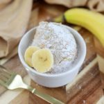 Air Fryer Banana Bread Mug Cake