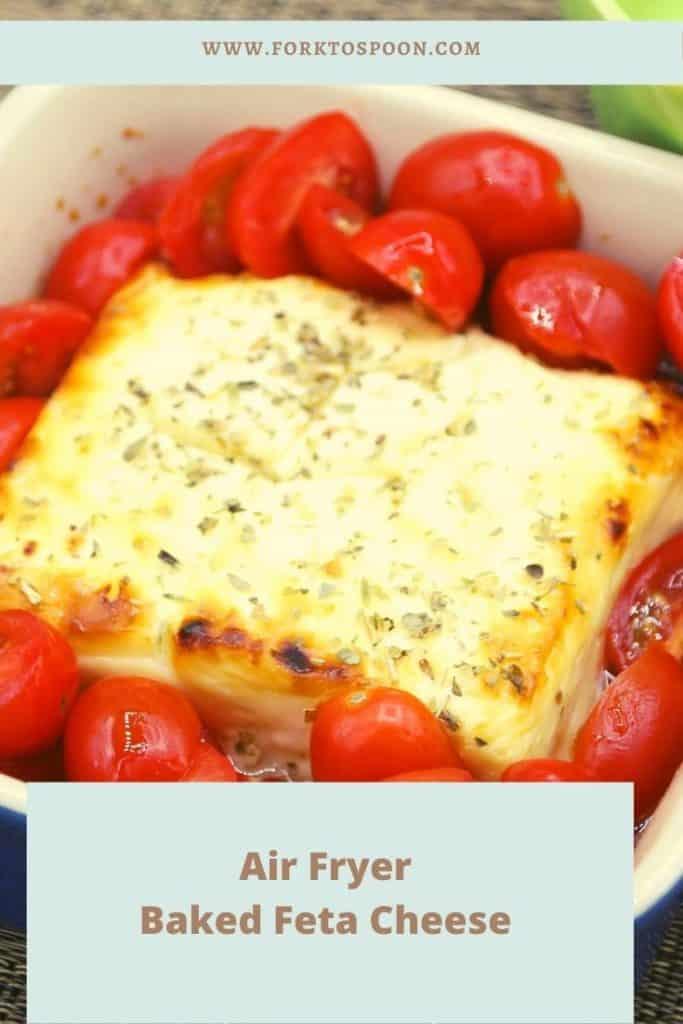 Air Fryer Baked Feta Cheese