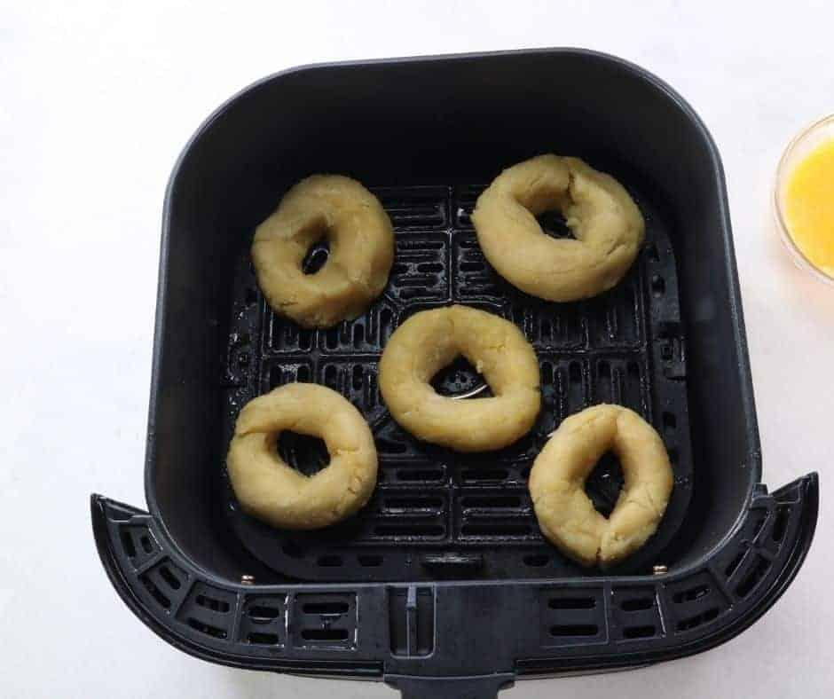 KETO Bagels in Air Fryer