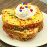 Air Fryer Fruity Pebbles French Toast