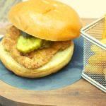 Easy Air Fryer Chicken Sandwich (Chick-fil-A Copycat)