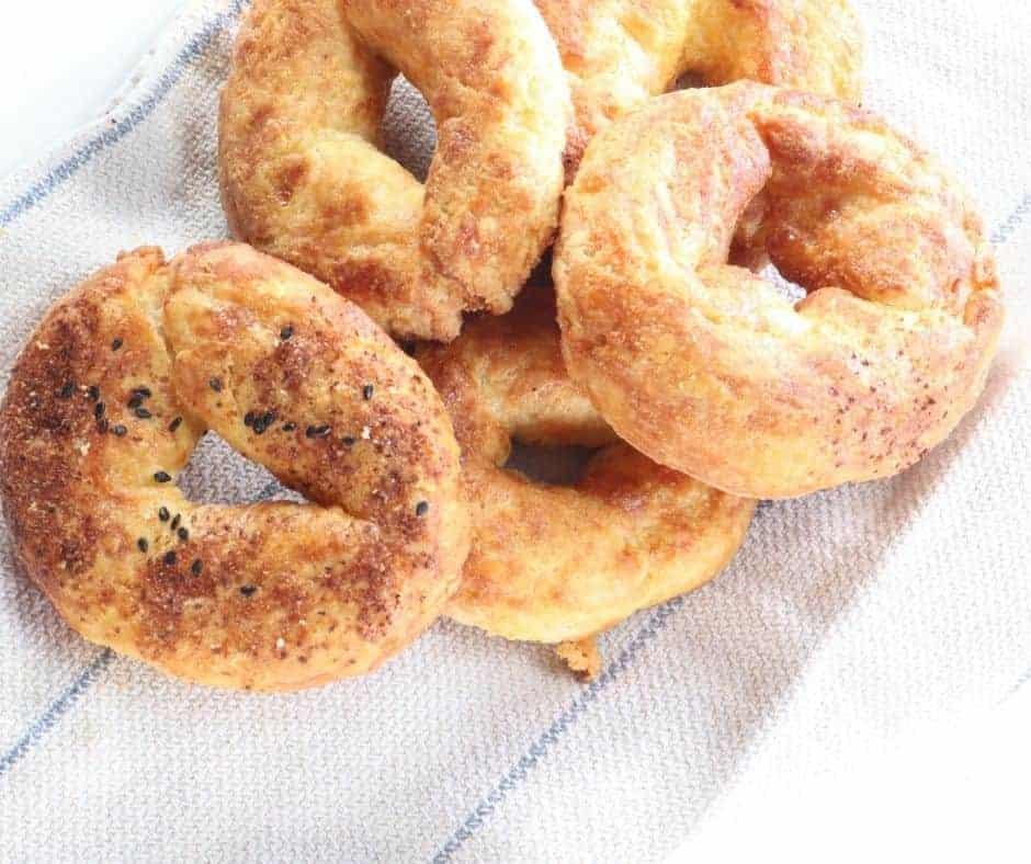 Air Fryer KETO Bagels