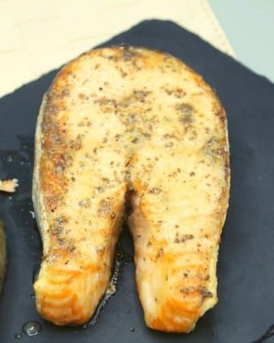 Air Fryer Salmon Steak