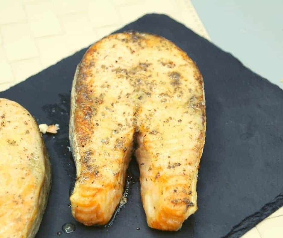 Air Fryer Salmon Steak