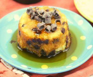 Air Fryer Chocolate Chip Pancake Muffins