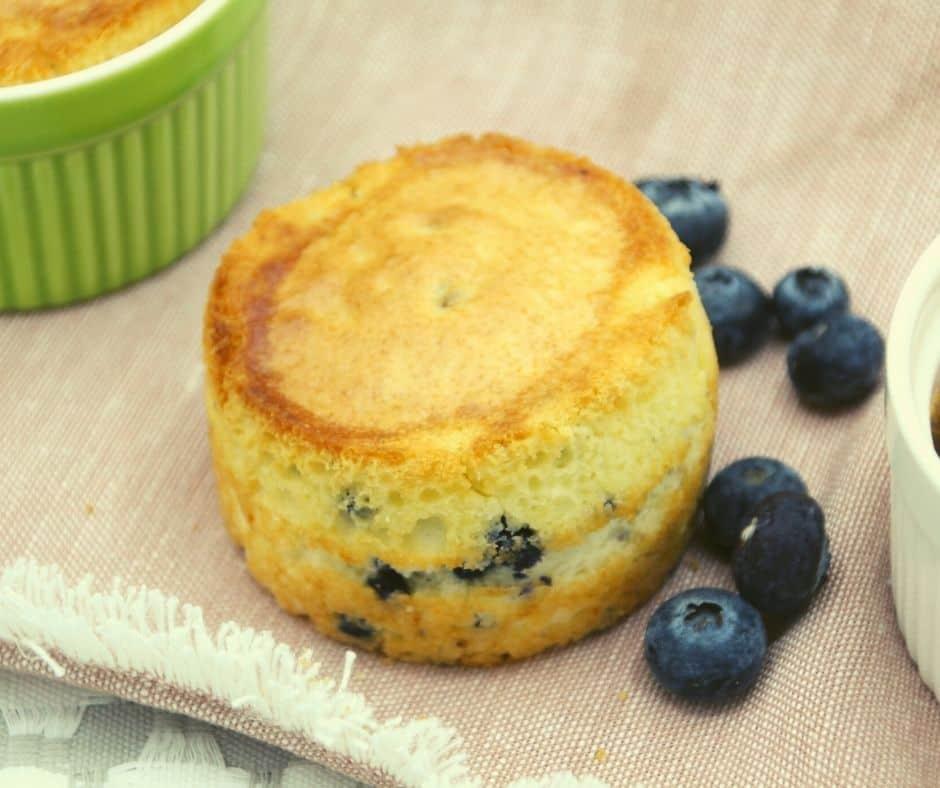 Air Fryer Blueberry Mix Muffins