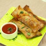 Air Fryer Pizza Egg Rolls