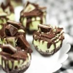 Instant Pot Andes Mint Cheesecake Bites
