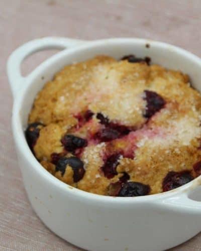 Air Fryer Cranberry Breakfast Cake