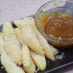 Air Fryer Fried Apple Fries